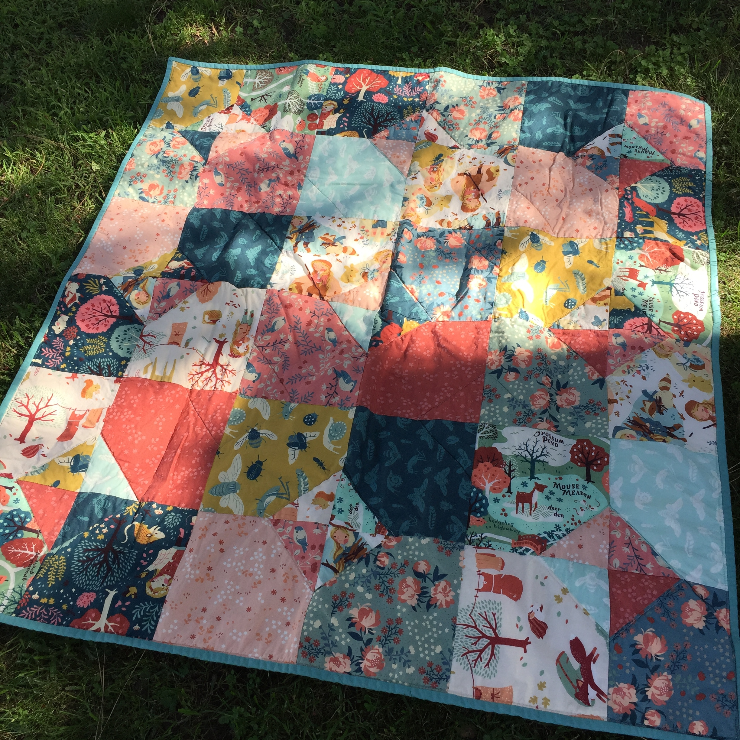 Woodland Baby Quilt