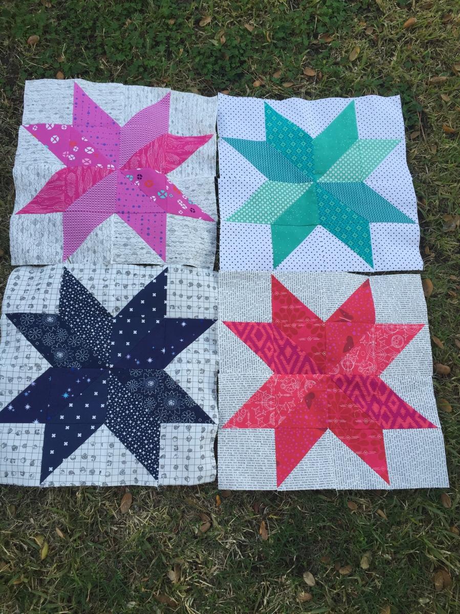 Starflower Quilt Block Tutorial Alwaysacraftylady